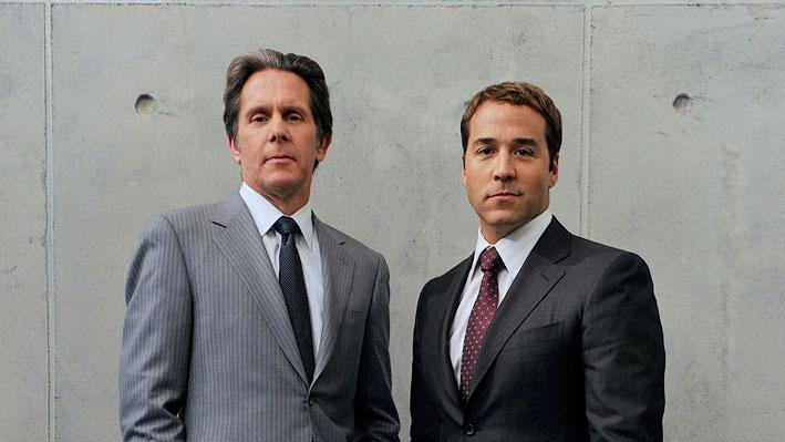 "Gary Cole and Jeremy Piven star in ""Entourage."""
