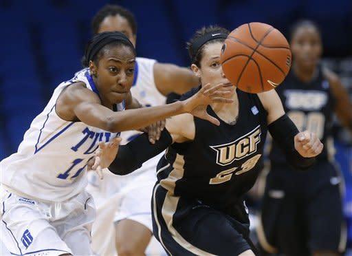 Tulsa tops UCF 75-66 in C-USA championship