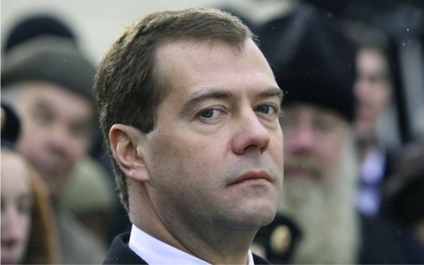 Dmitry Medvedev Calls for the Release of Pussy Riot ... Again