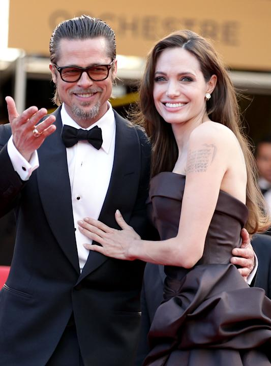 FILE:  Angelina Jolie And Brad Pitt Engaged According To Reports