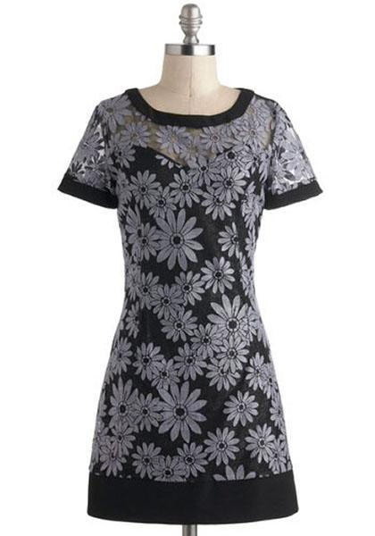 Light Up the Bloom Dress, $54.99 at modcloth.com
