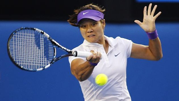 Li Na in the Australian Open final (Reuters)