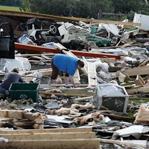 Powerful, rare tornado strikes upstate New York