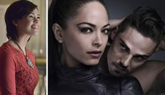 Nicole Gale Anderson, Kristin Kreuk and Jay Ryan from The CW's 'Beauty and The Beast' -- The CW