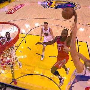Harden Throws Down