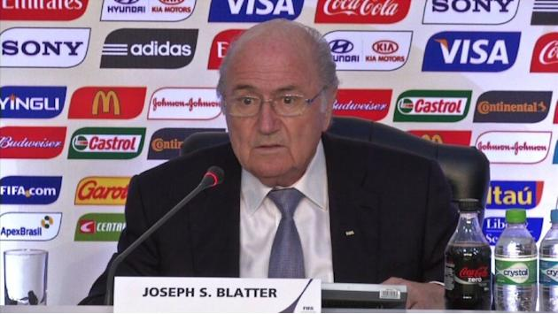 Blatter optimistic on 2014 after Confed Cup