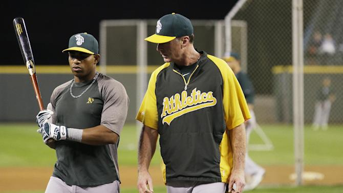Cespedes eager for big playoff run with Athletics