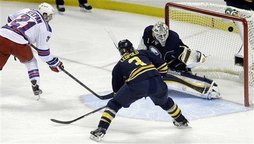 Foligno scores 2 in Sabres' 3-1 win over Rangers
