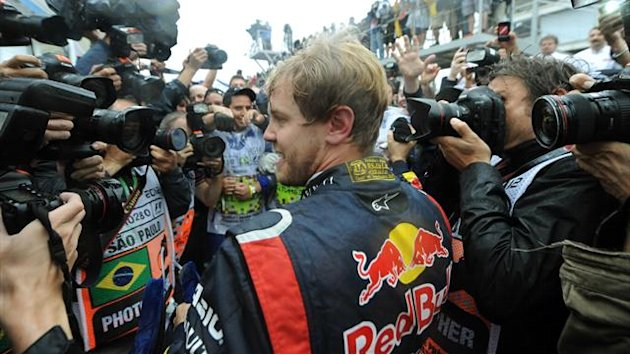 Formula 1 - Elated Vettel says race toughest ever