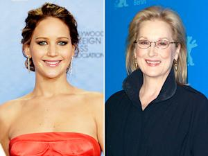 "Jennifer Lawrence's ""I Beat Meryl Streep!"" Joke at the Golden Globes: Funny or Not?"