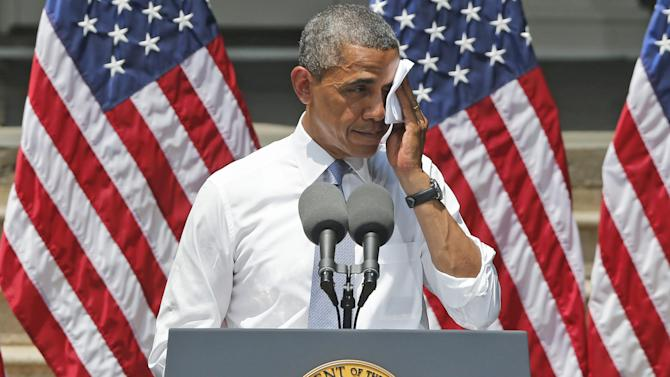 Obama opens 2nd-term drive against climate change