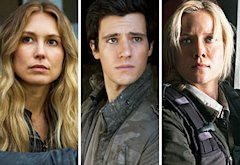 Sarah Carter, Drew Roy, Jessy Schram | Photo Credits: James Dittiger/TNT, James Dittiger/TNT, Ken Woroner/TNT