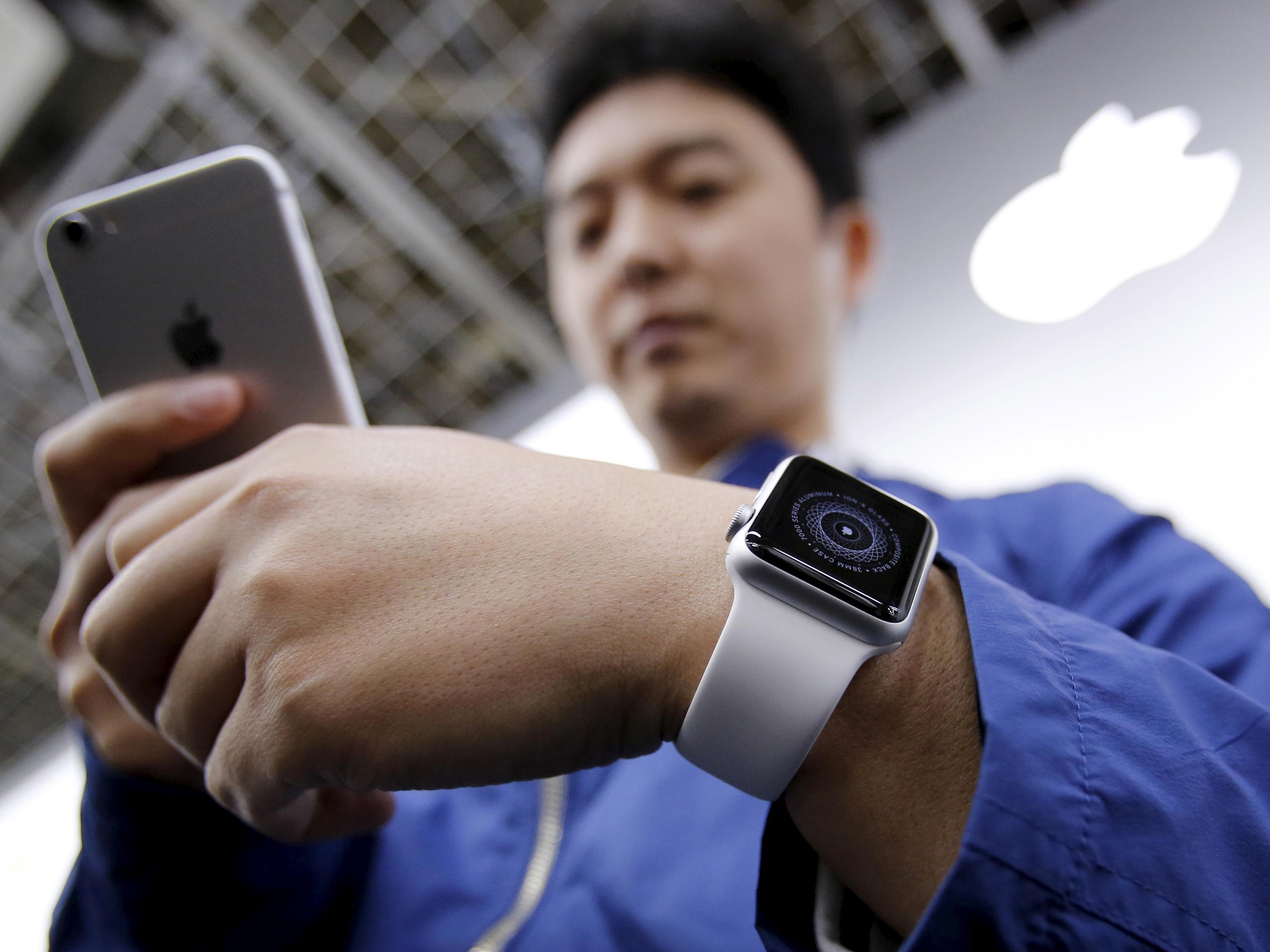 Apple has sold over 1 million Watches in China according to this study