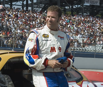 Will Ferrell in Columbia's Talladega Nights: The Ballad of Ricky Bobby
