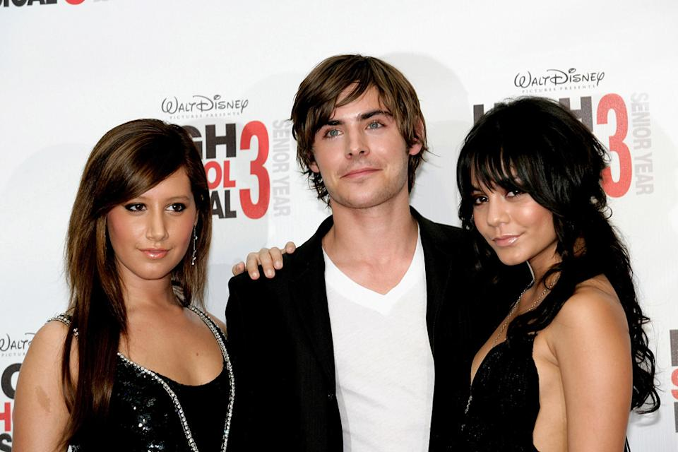 Ashley Tisdale Zac Efron Vanessa Hudgens 2008