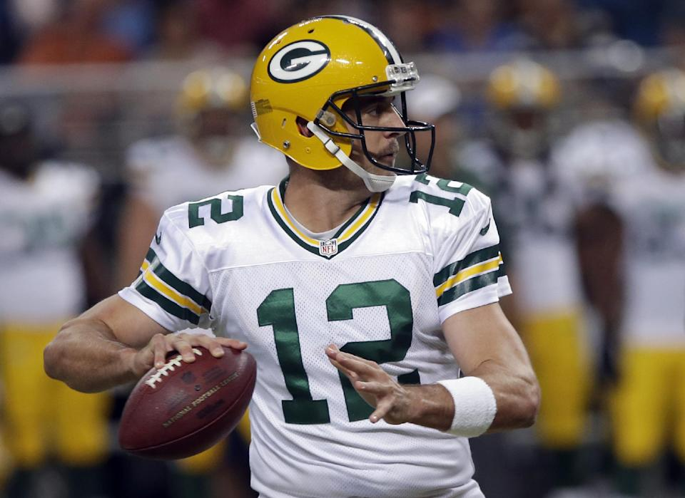 Rodgers settles for FGs, Packers beat Rams 19-7