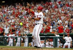 Nats score for Zim, pound Lincecum and Giants 9-3