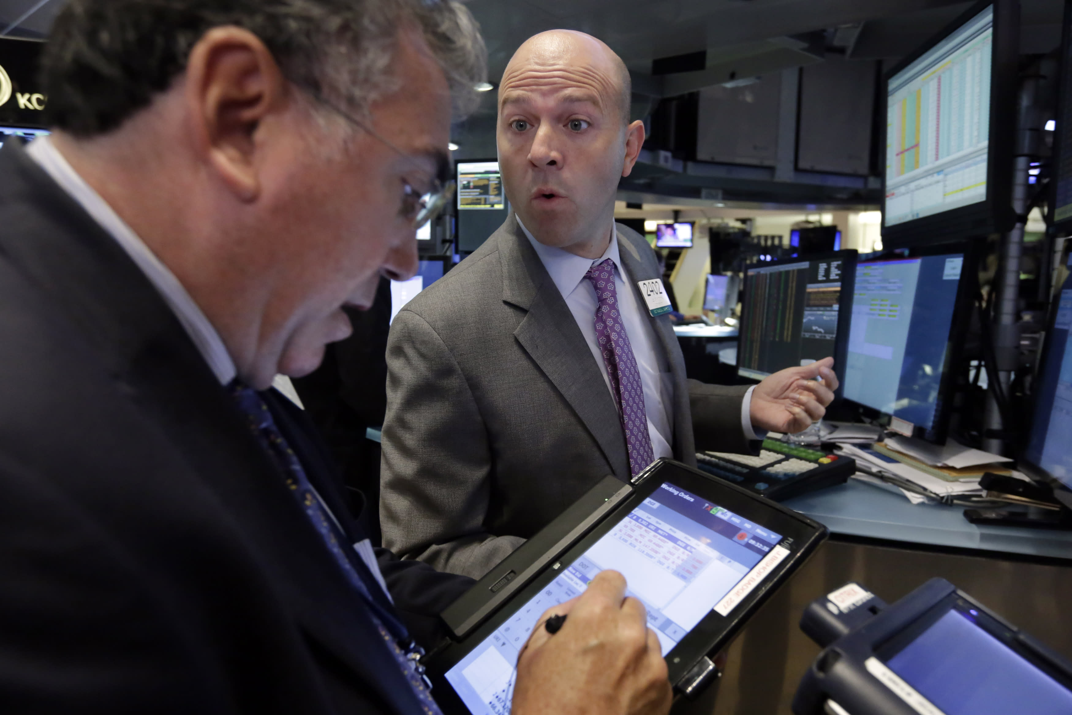 US markets recover a day after big plunge