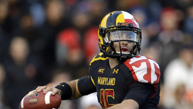 Maryland QB Brown accepts blame for team's skid