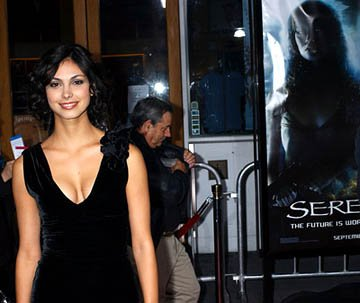 Premiere: Morena Baccarin at the LA premiere for Universal Pictures' Serenity - 9/22/2005