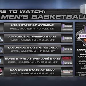 Where to Watch MW Men's Basketball 3/4/15