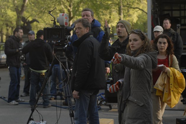 Director Natalie Portman New York, I Love You Production Stills Vivendi 2009