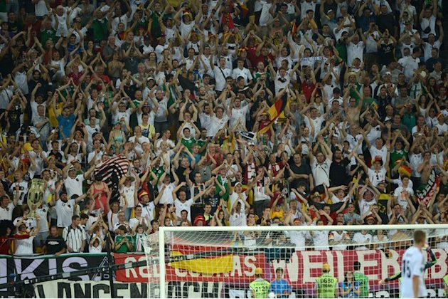 German Supporters AFP/Getty …