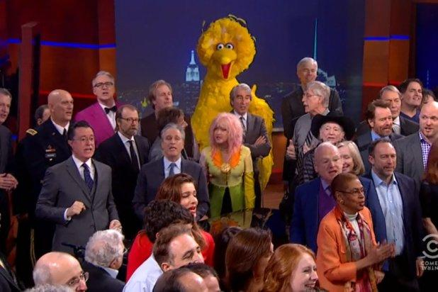Stephen Colbert Cheats Death in Star-Studded Final Episode of 'The Colbert Report' (Video)