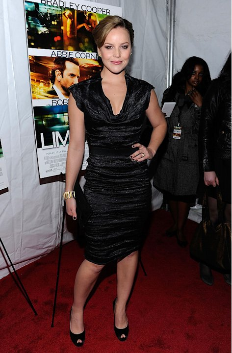Limitless NYC Premiere 2011 Abbie Cornish