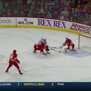 Cam Ward Save on Barret Jackman (10:55/3rd)