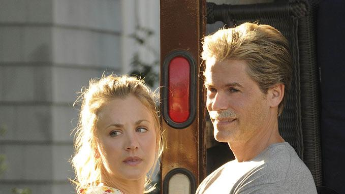 "Kaley Couco as Stacy Peterson and Rob Lowe stars as Drew Peterson in ""Drew Peterson: Untouchable."""