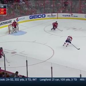 Al Montoya Save on Eric Fehr (15:29/2nd)