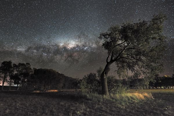 Milky Way over Australia