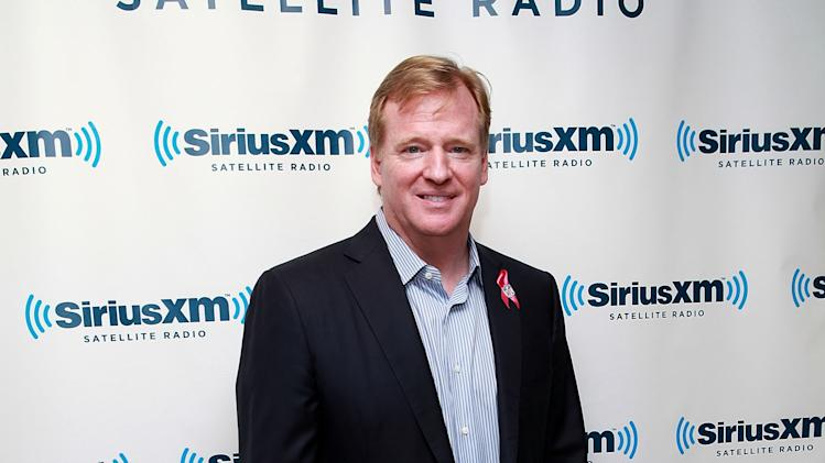 SiriusXM Town Hall With NFL Commissioner Roger Goodell And Michael Strahan On SiriusXM NFL Radio