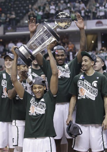 Michigan State beats Ohio State for Big Ten title