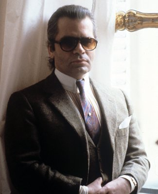Karl Lagerfeld Reveals His Hair History: 'I Was Tired Of Long, Curly Hair'