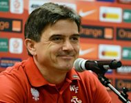 Poland coach Waldemar Fornalik, pictured on October 11, on Monday warned against underestimating his side, on the eve of their 2014 World Cup qualifier against England