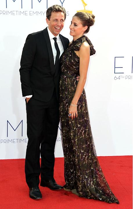 64th Primetime Emmy Awards - Seth Meyers, Alexi Ashe