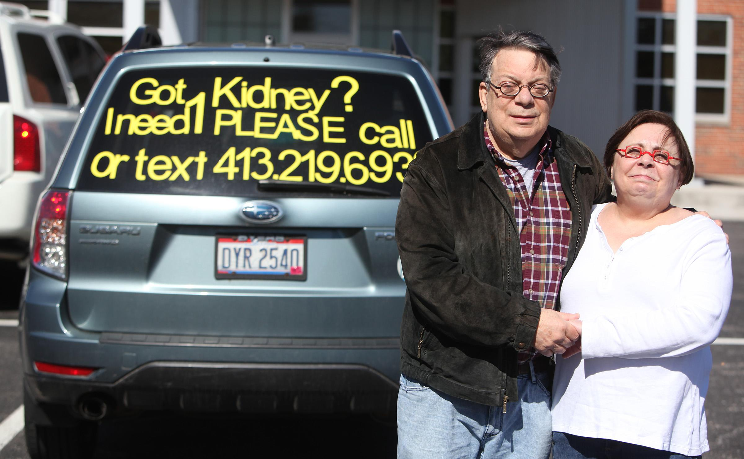 Ohio man posts message on his SUV: 'Got kidney? I need 1'