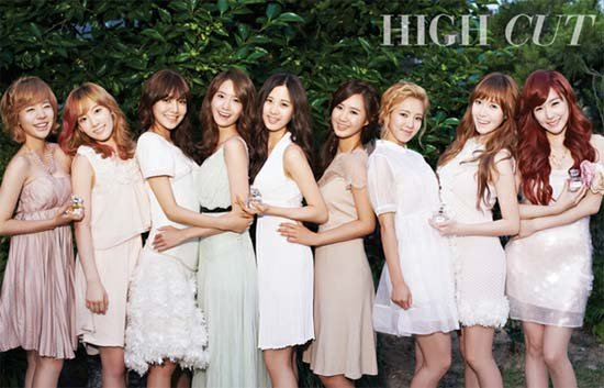 SNSD Transform into Sweetly Scented Ladies for 'High Cut'