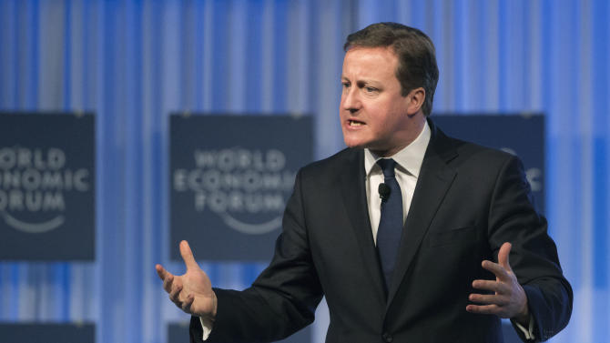 AP Interview: Cameron wants UK to remain in EU