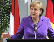 &lt;p&gt;German Chancellor Angela Merkel, seen here on July 11, said she was &quot;optimistic&quot;, but could not be certain that the &quot;European project&quot; would work, in a video interview published on Wednesday.&lt;/p&gt;