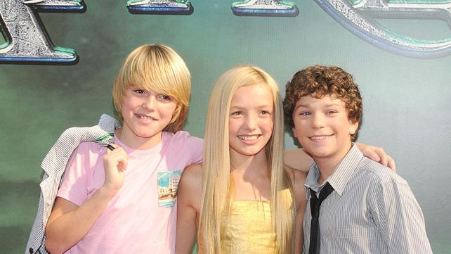 The Sorcerer's Apprentice NY Premiere 2010 Spencer List Peyton List Jake Cherry
