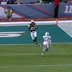 New York Jets quarterback Geno Smith throws 23-yard TD pass to Jeff Cumberland