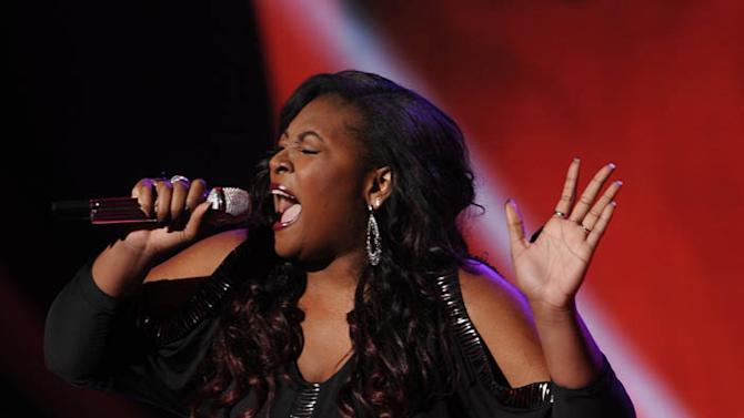 """""""American Idol"""" Top 10 - Candice Glover"""