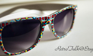 Pattern Sunglasses, $12