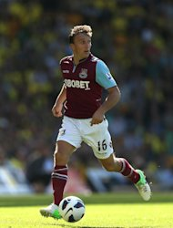 West Ham midfielder Mark Noble is &#39;over the moon&#39; after signing a new three-year contract