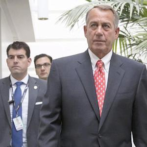 Boehner clashes with Obama over Iran, Israel