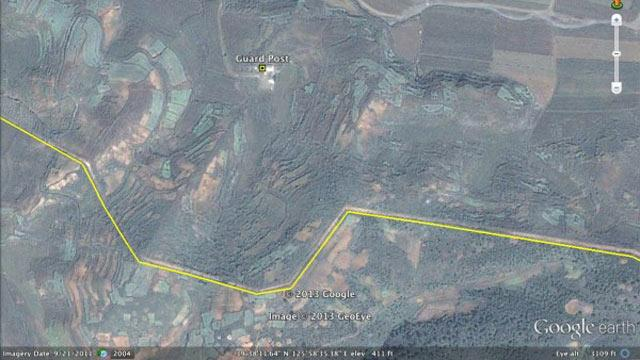 Google Earth Used to Spot North Korean Labor Camp