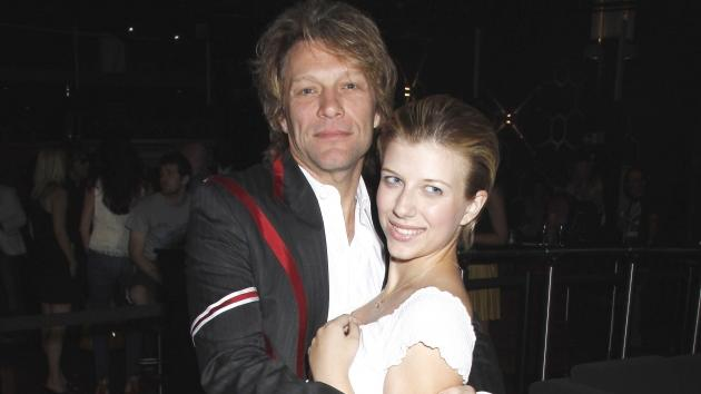 Stephanie Rose Bongiovi and her dad, Jon Bon Jovi attend the White Trash Beautiful Clothing Label Launch at Indig02 in London on June 23, 2010  -- Getty Premium